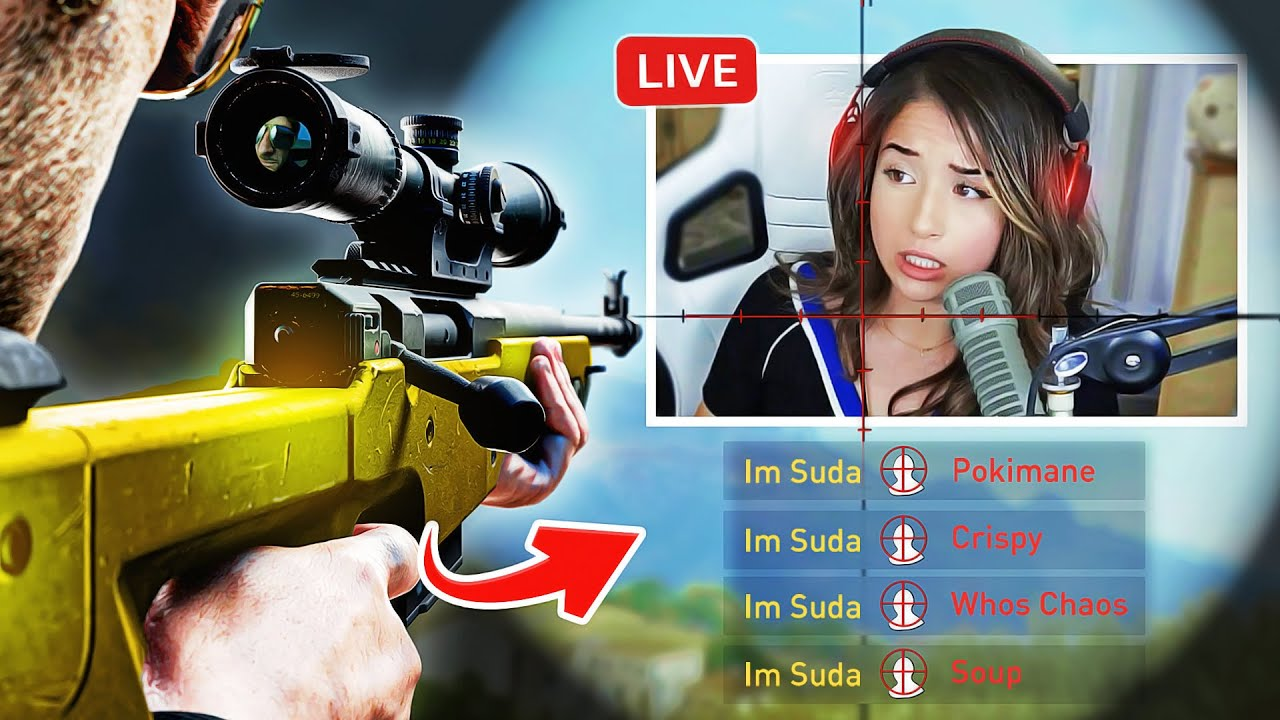 Stream Sniping my Friends