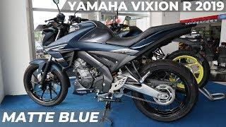 Ini Yang Beda dari Yamaha Vixion R Matte Blue 2019