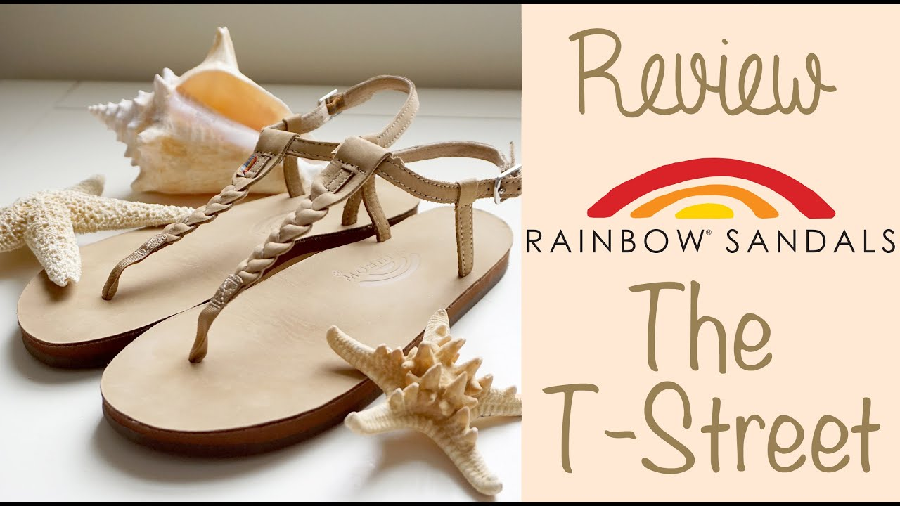 bb8598b2a527 Review + Try On  Rainbow Sandals The T-Street in Seirra Brown! - YouTube