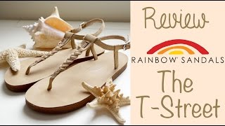 Review + Try On: Rainbow Sandals The T-Street in Seirra Brown!