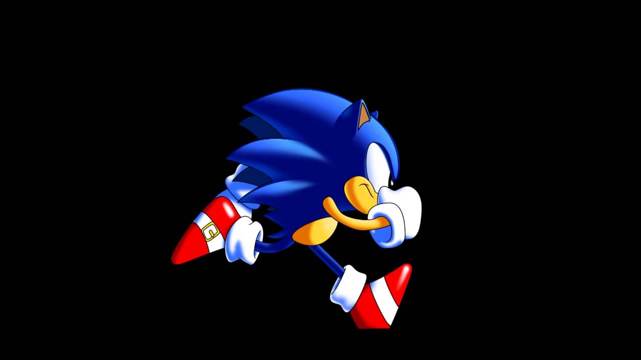 1080 Hd Sonic Cd Pencil Test Animation Remastered Youtube