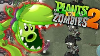 Plants vs Zombies 2 - SNAP PEA