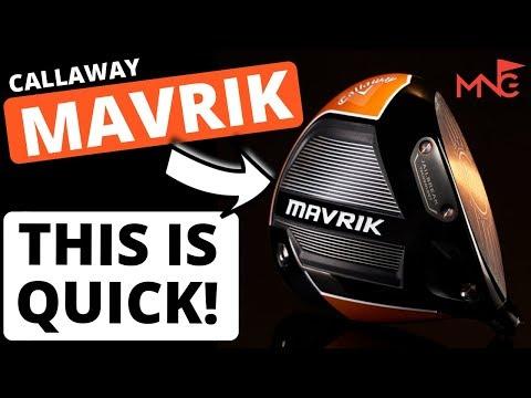 THIS IS QUICK! Callaway Mavrik Driver