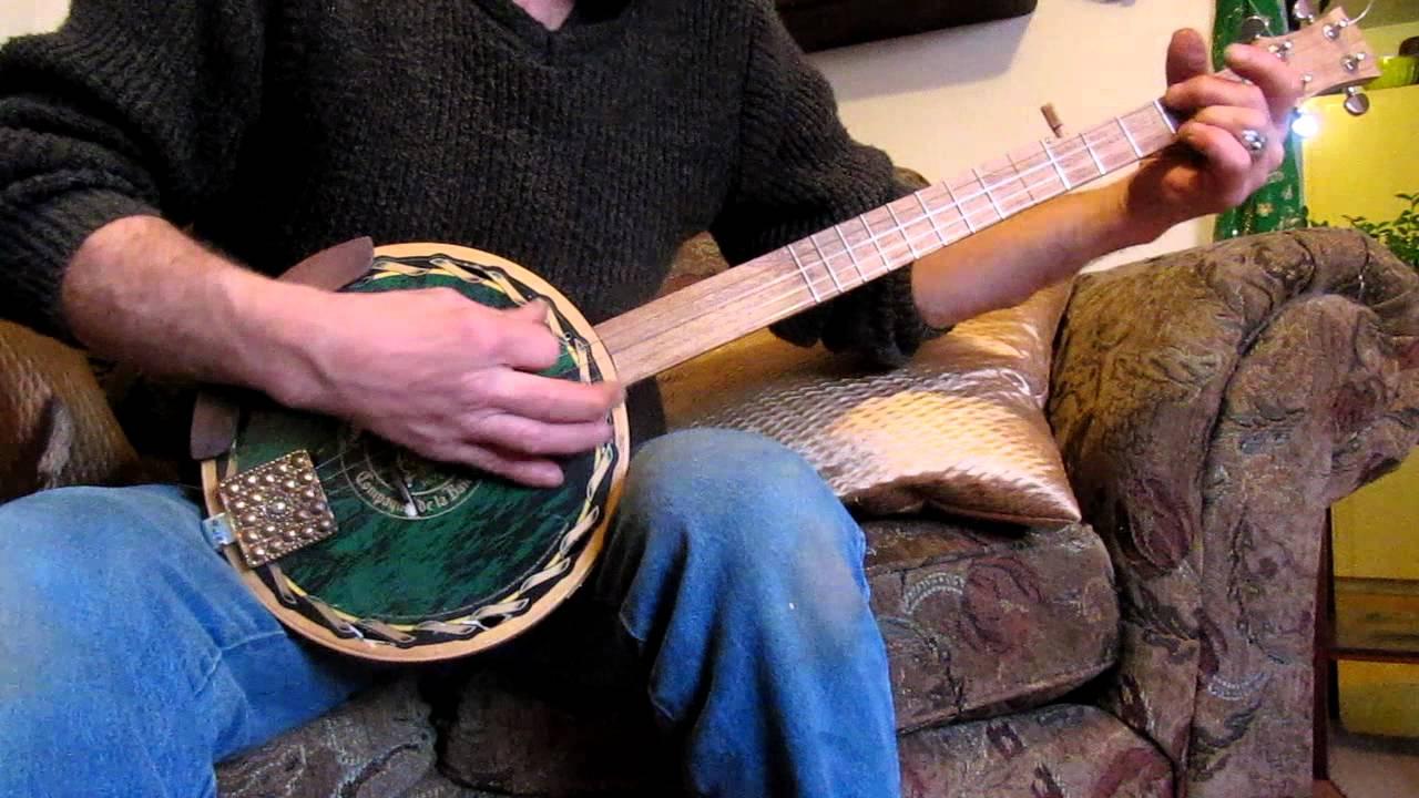 how to make a banjo at home