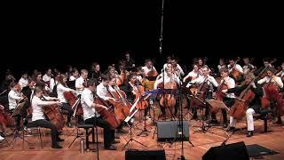 "Celloversum 2017   04.03.2017 hochschule für musik und tanz köln leitung: ulrike gunther tiedemann rms cello big band: ""i see fire"" (ed sheeran, arr...."