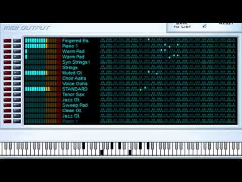 Clocks - Coldplay - Midi File (OnlyOne)