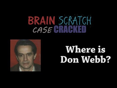 Case Cracked: Where is Don Webb?