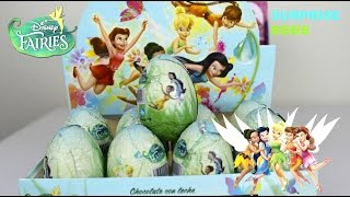 HUEVOS SORPRESA DE HADAS| Disney Fairies Surprise Eggs