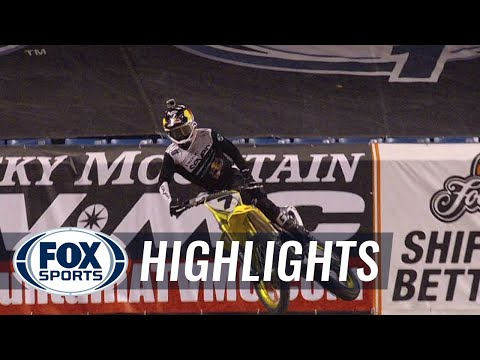 James Stewart Makes Incredible Comeback for 49th Win - Toronto Supercross 2014