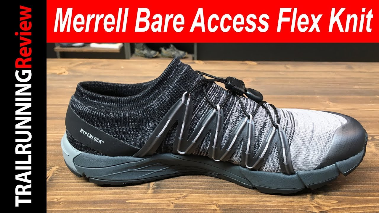 4e7f852e63d Merrell Bare Access Flex Knit Preview - YouTube