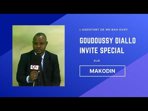 Goudoussy Diallo Invité Special Sur L'Emission Makodin