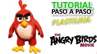 ANGRY BIRDS - COMO HACER A RED DE PLASTILINA PASO A PASO ✔ MI MUNDO DE PLASTILINA