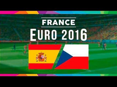 Fifa 16 - Spain Vs Czech Republic | España Republica Checa Euro 2016