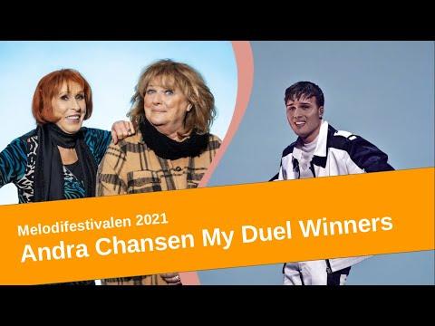 Melodifestivalen 2021 Andra