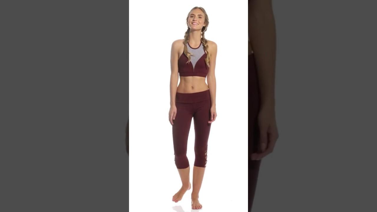 7d98efcc92 Onzie High Neck Yoga Sports Bra