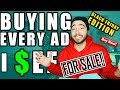 BUYING EVERY ADVERTISEMENT I SEE! - (BLACK FRIDAY EDITION)