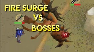 Fire Surge Is AMAZING on Bosses