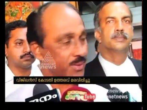 K Babu crying in front of camera |HC stays FIR against K Babu