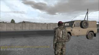 Gaming live Arma II : Reinforcement