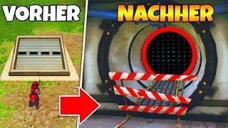 BUNKER Vorher vs. Nachher! (Fortnite Battle Royale)