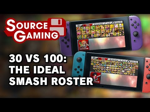 30 vs 100: The Ideal Smash Roster Featuring Relax Alax