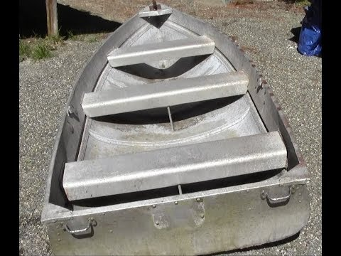 How To Repair An Aluminum Boat
