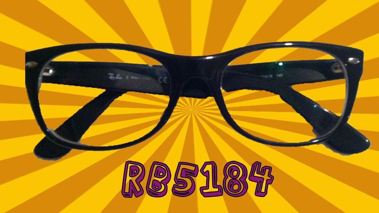 e007ddca7dd RayBan New Wayfarer RB5184 Optical Glasses Product Review - YouTube