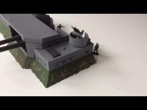 Airfix coastal defence fort 1/72