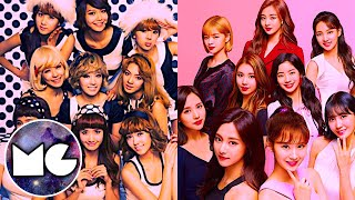 TWICE VS GIRLS'GENERATION / KPOP GUERRAS - Stafaband
