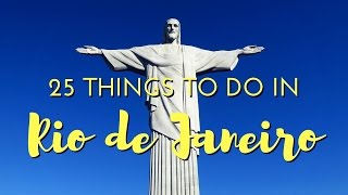 25 Things to do in Rio De Janeiro, Brazil Travel Guide(Hello from Rio de Janeiro! This was our first stop in Brazil and we were very excited to check out the top attractions, sample Brazilian cuisine, and squeeze in a ..., 2016-06-23T02:07:35.000Z)