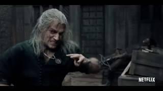 Ведьмак / The Witcher трейлер Кубик в кубе
