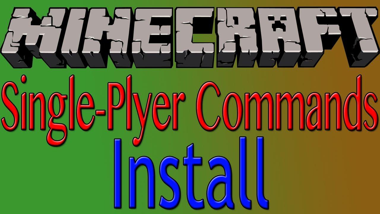 Single Player Commands [V4.9] - Official Download [SPC] [+NoClip]