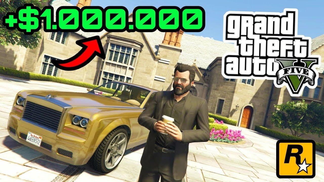 $1.000.000 GRATIS für JEDEN❗- Schnell Geld machen in GTA 5 ONLINE