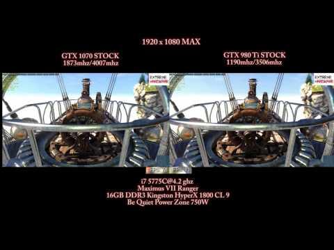 GTX 1070 vs GTX 980Ti | HEAVEN BENCHMARK | STOCK/OC | 1080p MAX, 1440p MAX