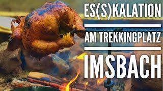 Es(s)kalation am Trekkingplatz Imsbach | Bushcraft Overnighter & Wanderung am Donnersberg