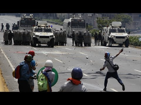 Venezuela's Ex National Guard Chief Charged as Street Clashes Continue