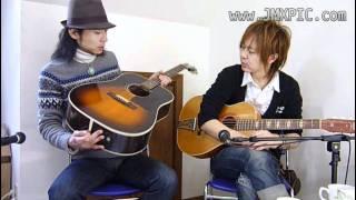 ヤフーオークションにて出品を予定する当該ギターを、岡林 (岡寿恵弘氏,...