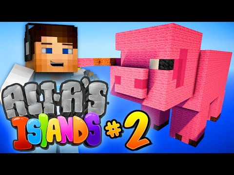"Minecraft 1.9 - Ali-A's Islands #2 - ""NEW ISLAND!"""