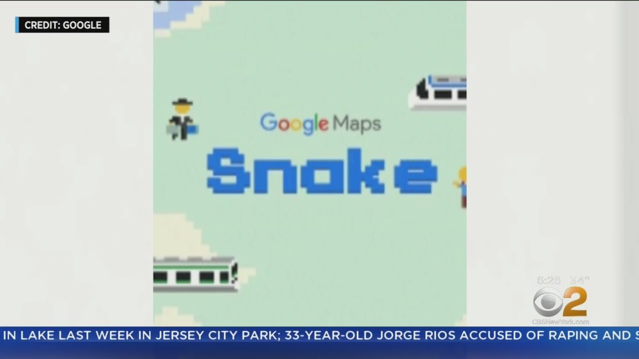 How To Play 'Snake' In Google Maps For April Fools Right Now