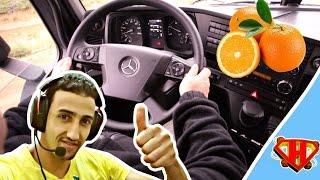 رحلة 1- نقل عصير البرتقال في لعبة Euro Truck Simulator 2 PC