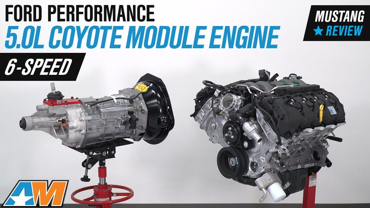 Ford Performance 5.0L Coyote Power Module Engine w/ Tremec 6-Sd Transmission on ford coyote hoses, ford coyote throttle body, ford coyote oil pump, ford coyote timing chain, ford coyote engine, ford coyote driveshaft, ford coyote motor,