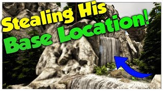 I Stole his Base Location! - Solo Official Small Tribe PvP Servers   Ark Survival Evolved   Ep4