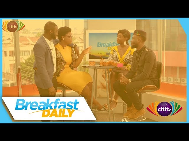 Fuse ODG stops by Breakfast Daily to talk about new track 'Bra Fie'