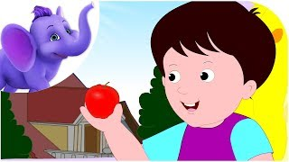 An Apple a Day Keeps the Doctor Away - Nursery Rhyme