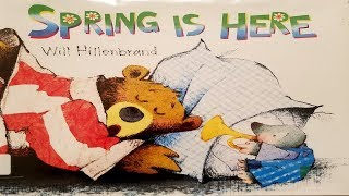 spring is here read aloud books childrens book read aloud