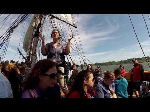 Goonies 30th Anniversary Day #3 Events Sailing Lady Washington/Warren Field
