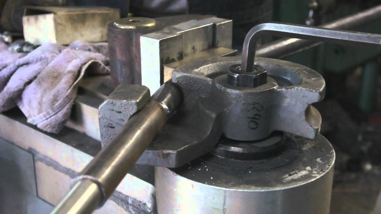 Tube bending tip for choppers and others - YouTube