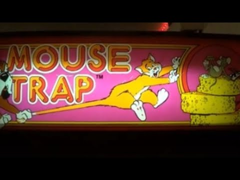 MOUSE TRAP ARCADE VIDEO GAME - BY EXIDY 1981