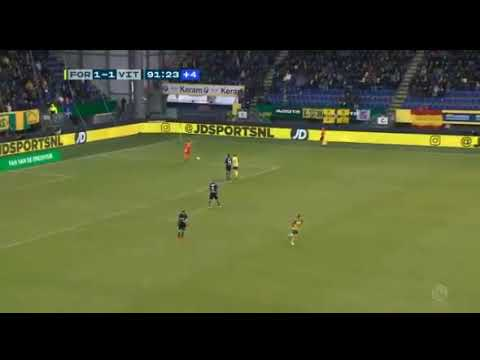stokkers world goal - fortuna sittard VS vitesse 92'
