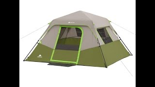Ozark Trail 6 person 10ft x 9ft Instant cabin tent How to